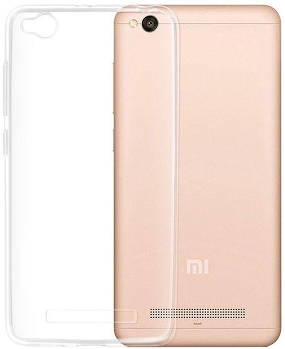 Чехол защитный Gosso Cases для Xiaomi Redmi 4A ClearView, 183541, прозрачный телефон dect gigaset l410 устройство громкой связи