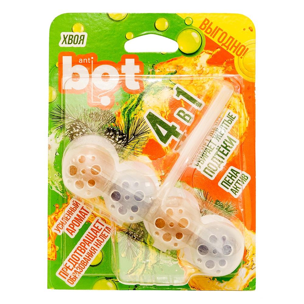 Подвесной блок для унитаза 4 в 1 Anti Bot BWC1P, 100 г цена 2017