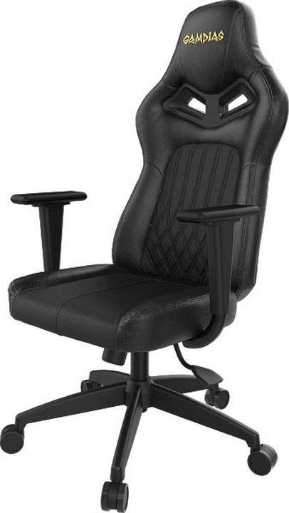 лучшая цена Игровое кресло Gamdias Hercules E3, c подсветкой RGB, GM-GCHE3B, black