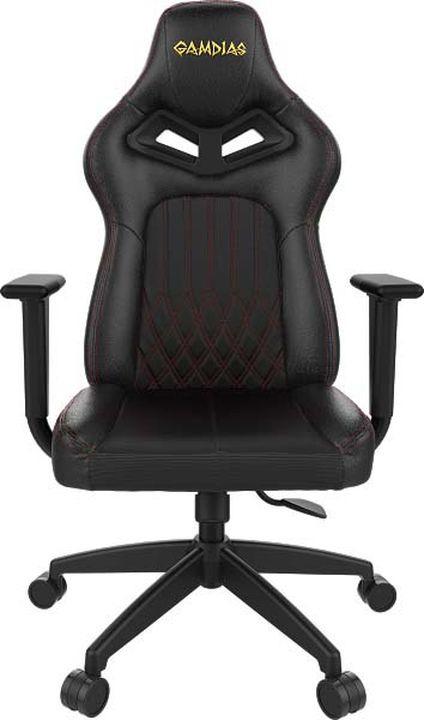 лучшая цена Игровое кресло Gamdias Hercules E3, c подсветкой RGB, GM-GCHE3BR, black red