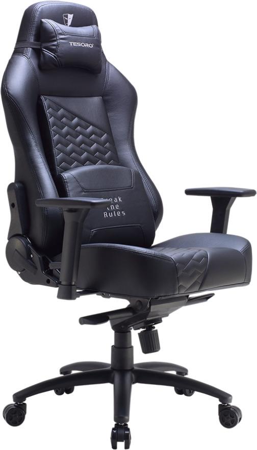 Игровое кресло Tesoro Zone Evolution F730, TSF730BB, black