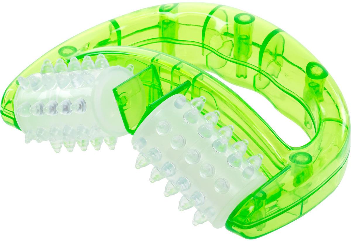 Ролик массажный Torneo, цвет: светло-зеленый ролик массажный torneo электрический
