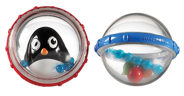 """Игрушка для ванны Munchkin """"Пузыри-поплавки пингвин"""", ЦБ-00010154, 2 шт"""