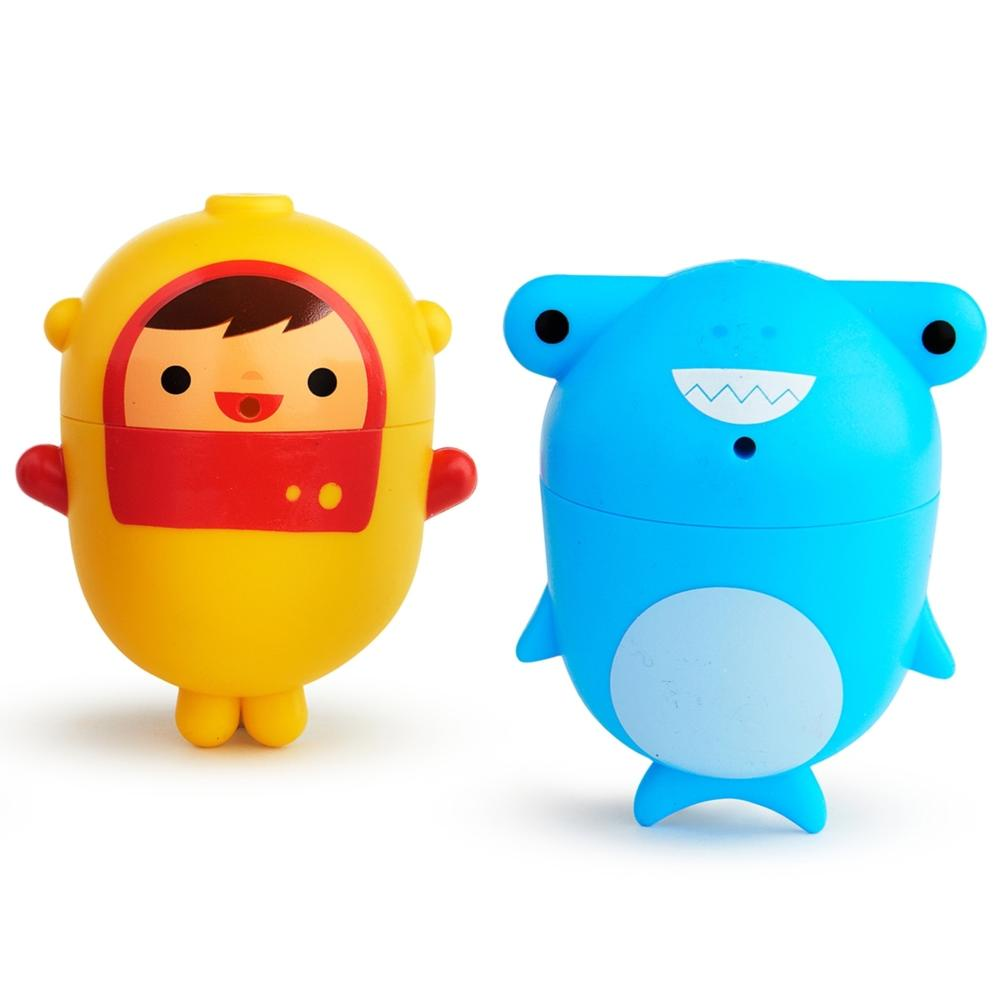 "Игрушки для ванны Munchkin ""Дайвер и акула"", ЦБ-00007788, от 9 мес"