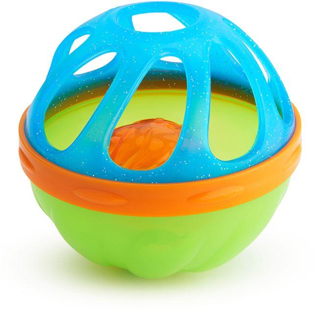 Munchkin игрушки для ванны Мячик голубой от 6 мес
