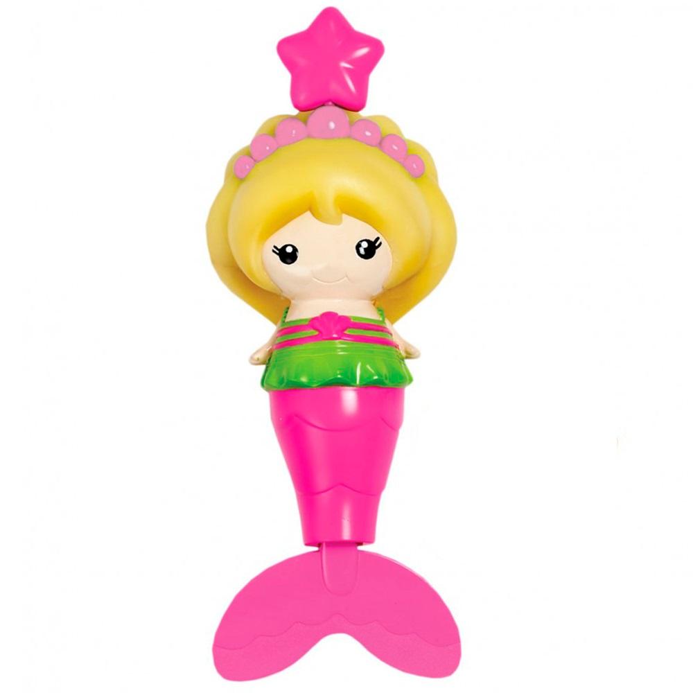 Munchkin игрушка для ванны Русалочка розовый от 18 мес
