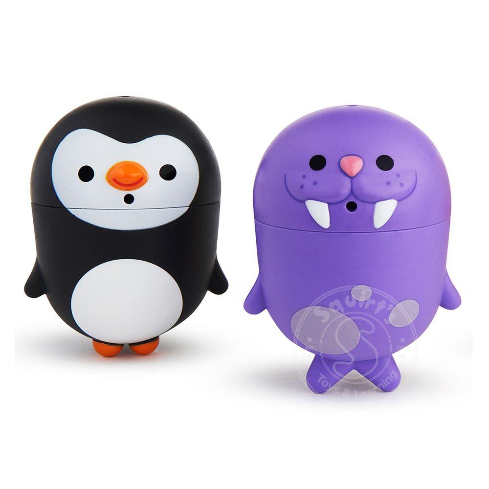 """Игрушки для ванны Munchkin """"Пингвин и морж"""", ЦБ-00007789, от 9 мес"""