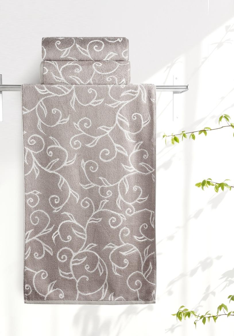 Полотенце Aquarelle Форест 1, цвет: мокко, бежевый, 50 х 90 см полотенце махровое aquarelle борнео вид 1 цвет мокко белый
