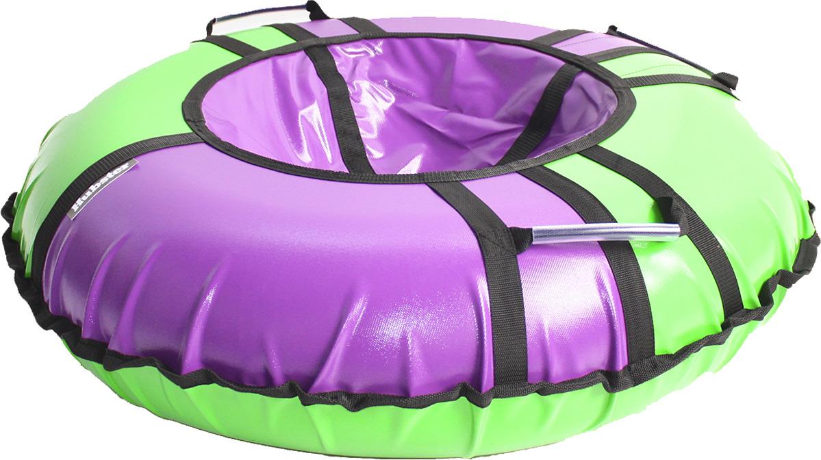 цена на Тюбинг Hubster Sport Pro, во4198-1, фиолетовый, зеленый, диаметр 105 см