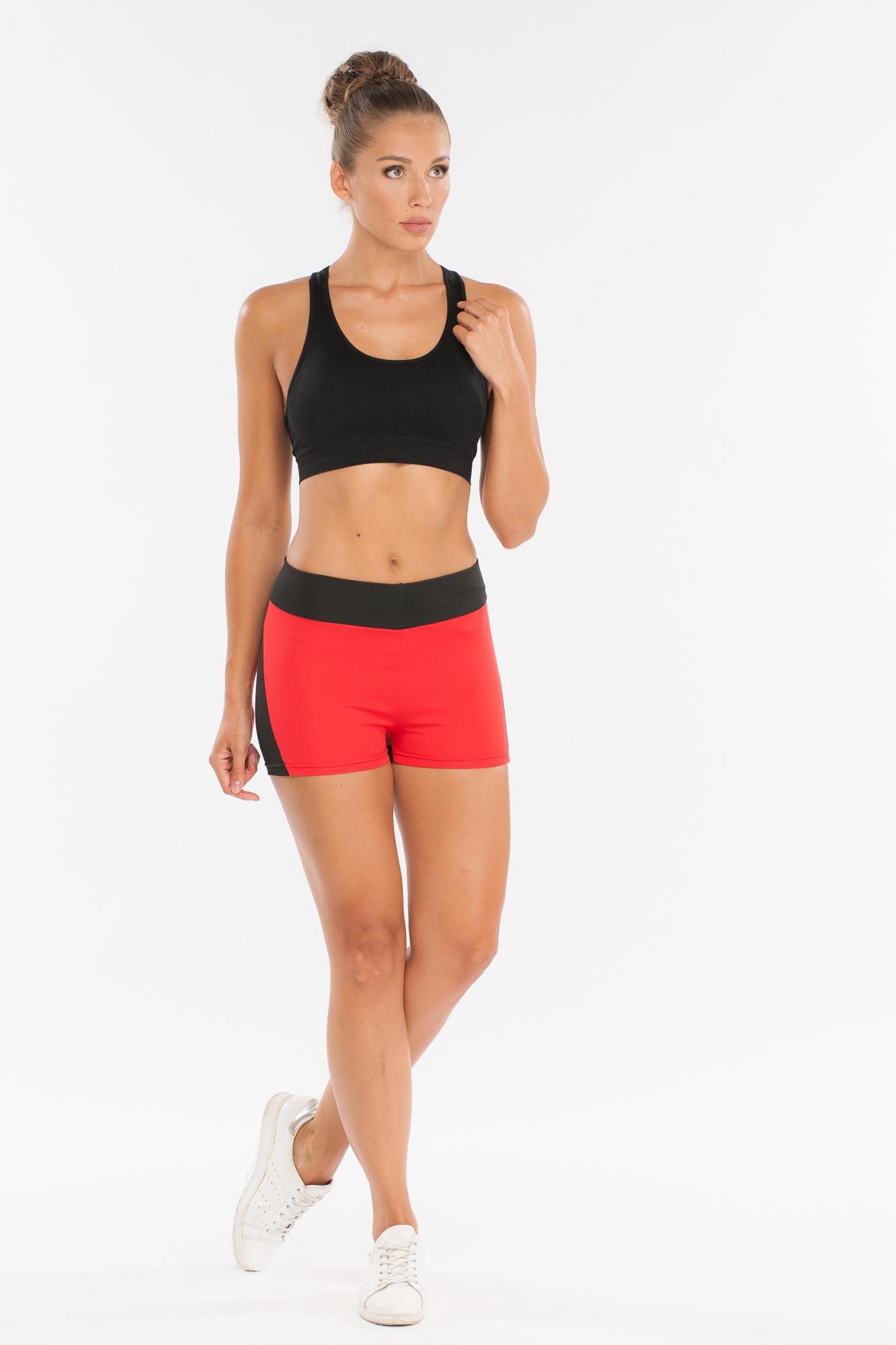 Шорты Morera95030 BLACK/RED (XL)Шорты спортивные для фитнеса, йоги, бега и других разных видов спорта.