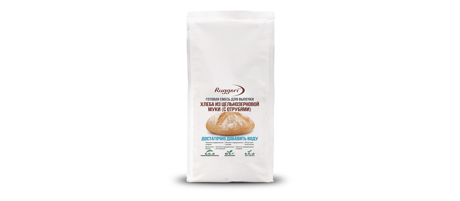 Смесь для выпечки Ruggeri хлеба, 500 смесь для выпечки почти печенье матча шоколад кокос 370 г