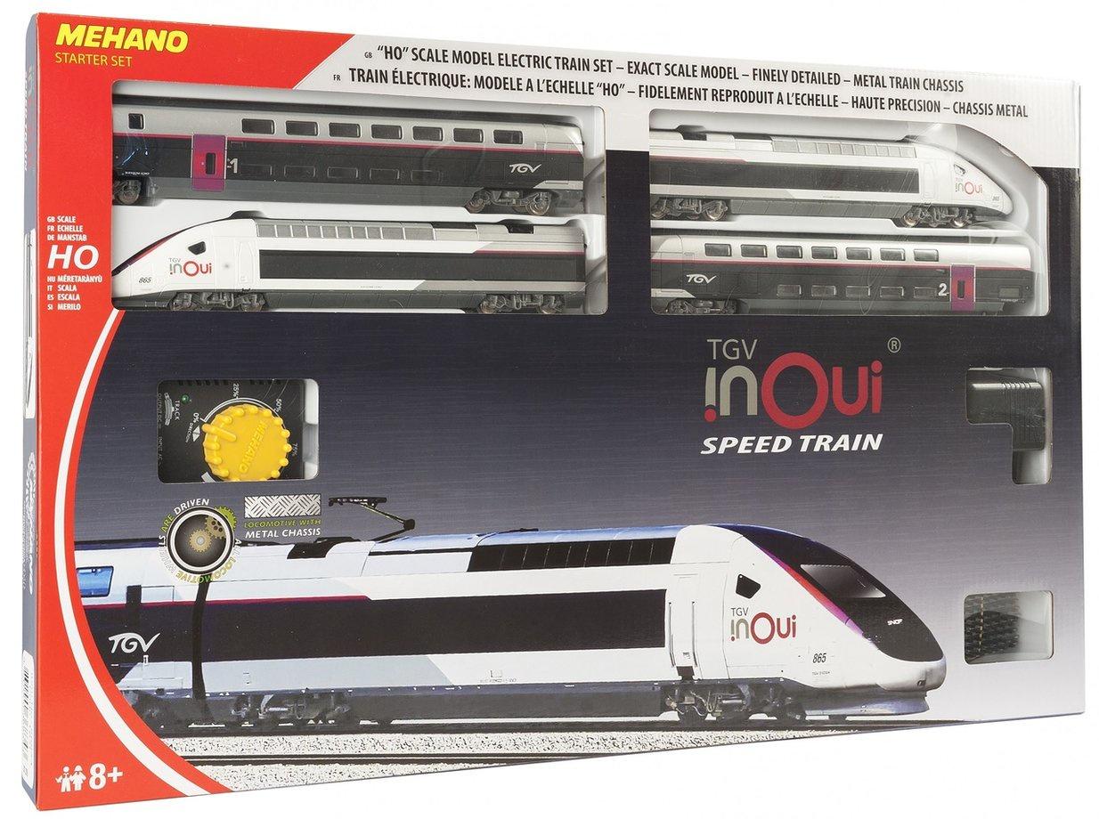Железная дорога Mehano TGV InOui, T871, 2,85 м игрушка mehano 1 f101 набор рельс