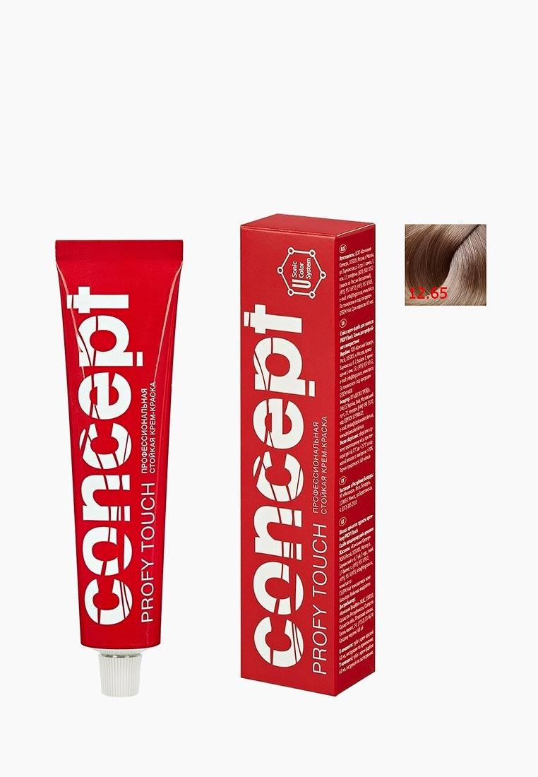 Кремкраска для волос Concept Permanent color cream PROFY Touch Стойкая экстрасветлый 60 мл