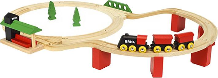 Игровой набор Brio Классика Делюкс, 33424 игровой набор праздничный поезд с клоуном brio