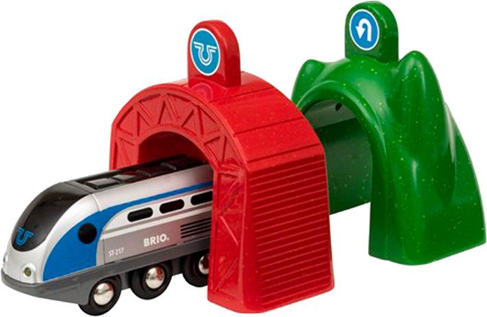 Игровой набор Brio Smart Tech Электропоезд и туннели, 33834 игровой набор brio smart tech железнодорожный набор 33873 17 элементов