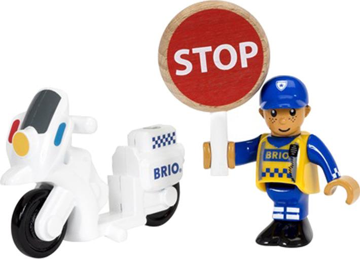 """Игровой набор Brio """"Полицейский мотоцикл"""", 33861, 3 элемента"""