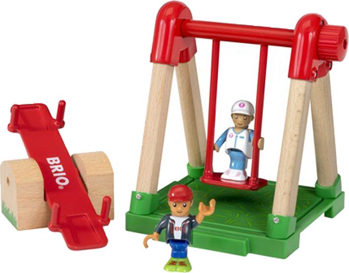 Игровой набор Brio Детская площадка, 33948, 4 предмета игровой набор brio детская площадка 4 предмета