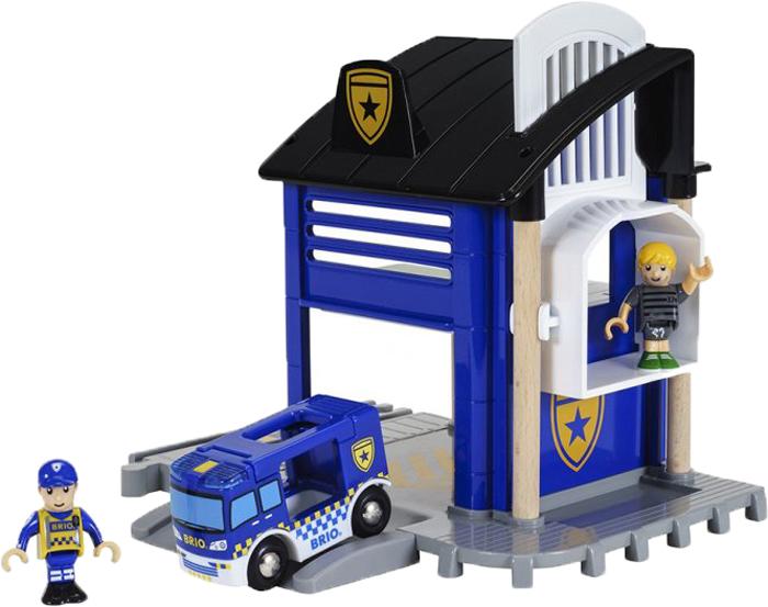 Игровой набор Brio Полицейский участок, 33813, 6 элементов игровые наборы classic world игровой набор конструктор полицейский участок
