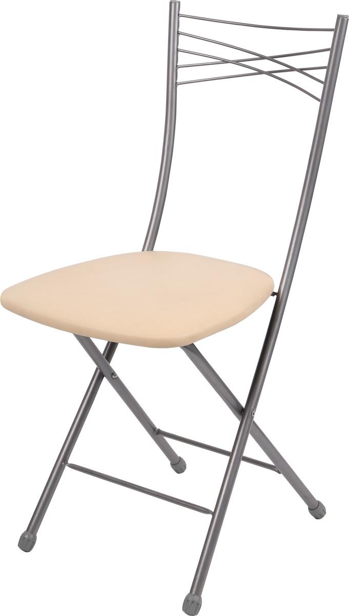 Складной стул Ника, ССН1/1, слоновая кость