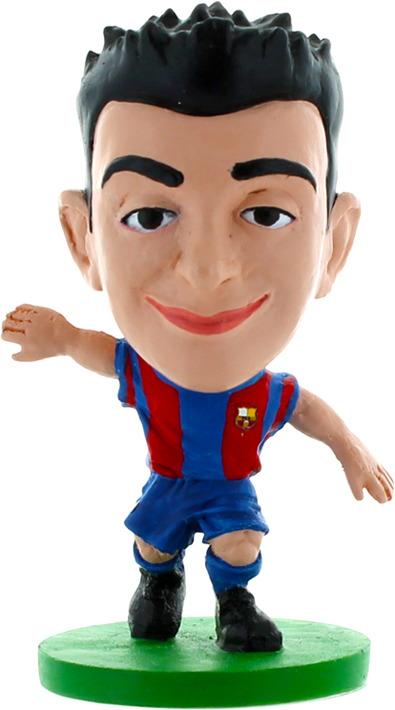 Фигурка SoccerStarz футболиста ФК Барселона Barcelona Barca Toon Xavi Home, 400014400014Коллекционная лицензионная фигурка футболиста всемирно известной марки SoccerStarz из высококачественного пластика. Отличный подарок и ребенку, и взрослому, увлекающемуся футболом. Фигурка выполнена в шаржевом стиле, на устойчивой подставке с фамилией игрока, упакована в яркий прозрачный блистер.