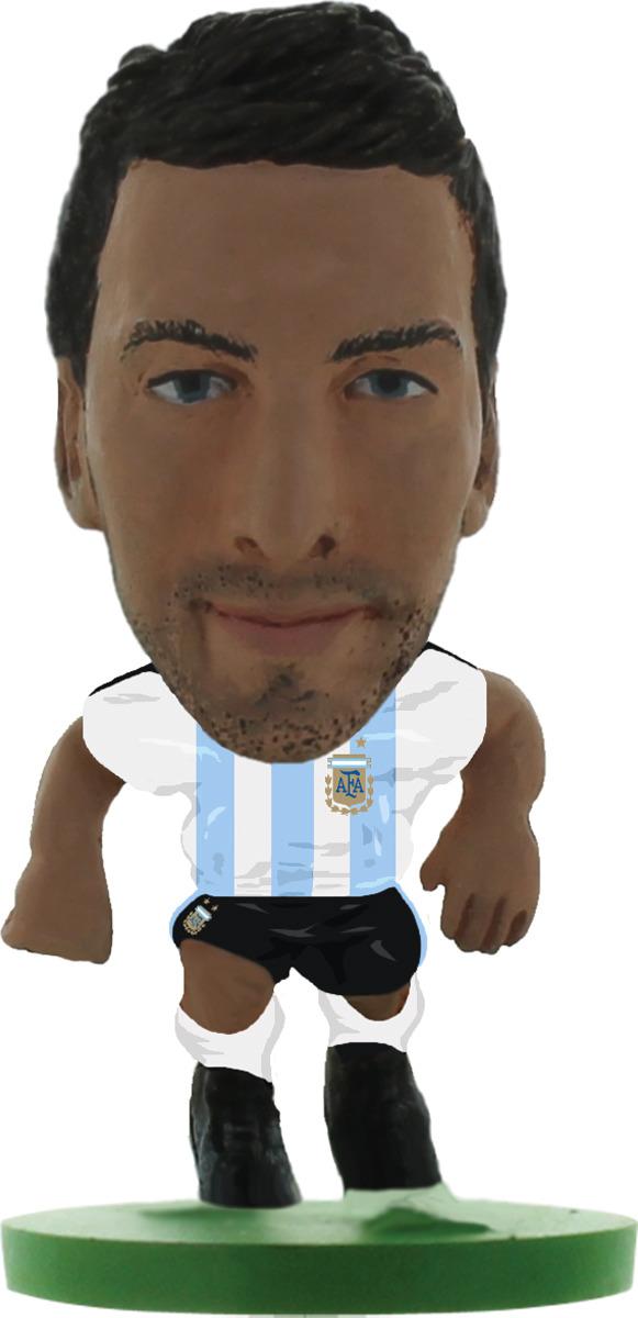 Фигурка SoccerStarz футболиста Сборная Аргентины Argentina Gonzalo Higuain, 404397 цена в Москве и Питере