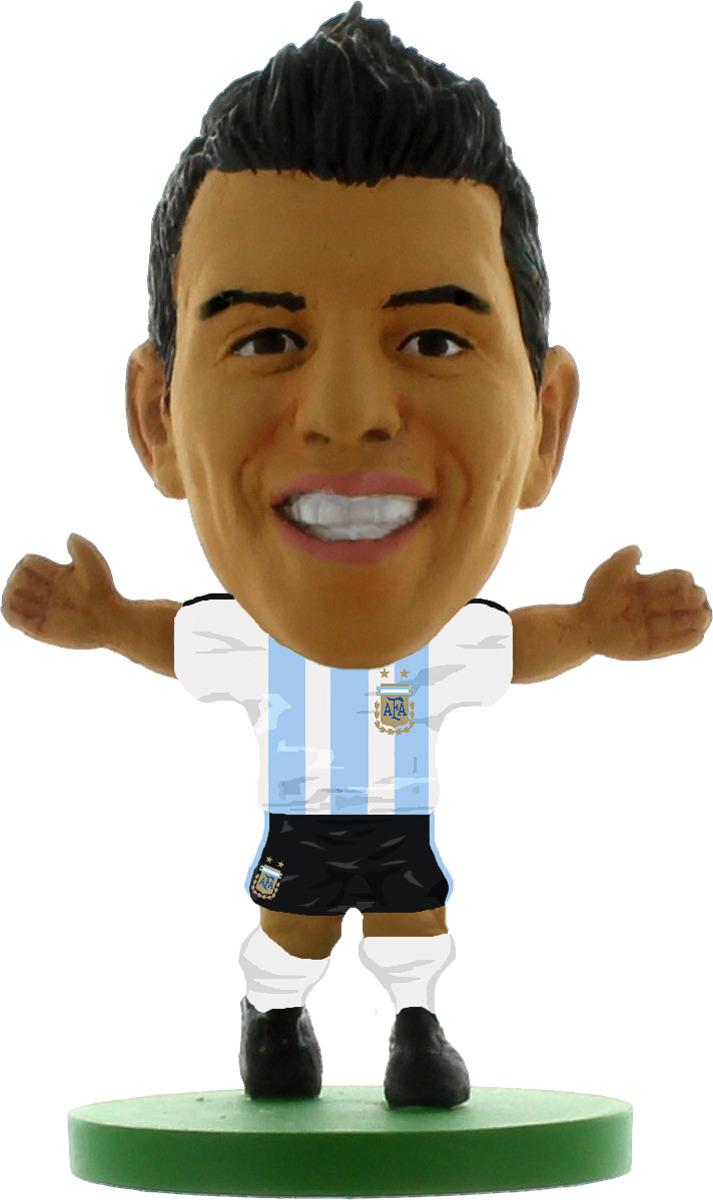 Фигурка SoccerStarz футболиста Сборная Аргентины Argentina Sergio Aguero, 404403 цена в Москве и Питере
