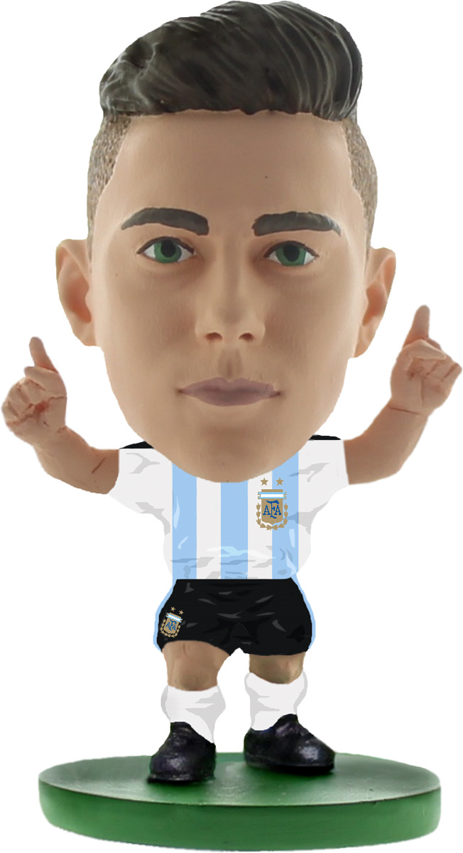 Фигурка SoccerStarz футболиста Сборная Аргентины Argentina Paulo Dybala, 404439 цена в Москве и Питере