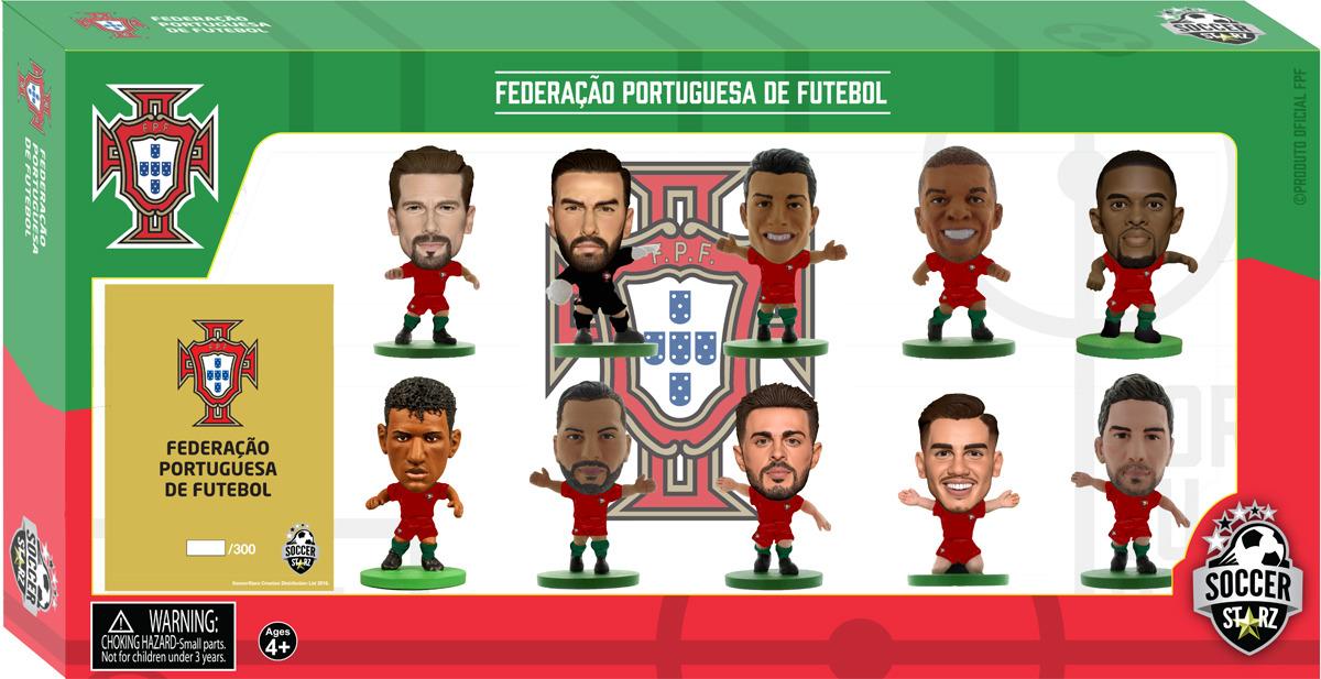 Фигурка SoccerStarz Набор футболистов Сборная Португалии Portugal 10 Player Team Pack 2018 Ed., 404547 цена в Москве и Питере