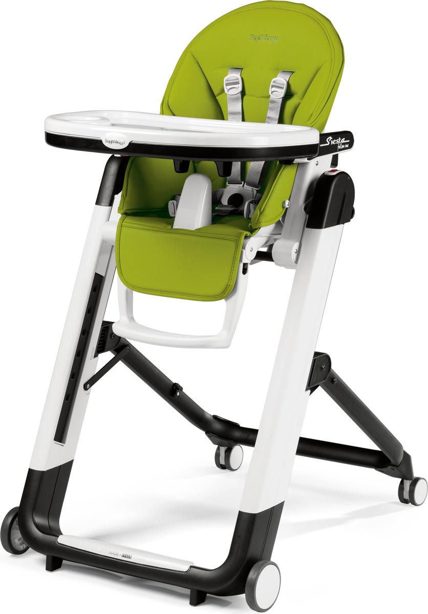 Стульчик для кормления Peg-Perego Siesta Follow Me Mela, цвет: зеленый стульчик для кормления peg perego siesta follow me mela цвет зеленый