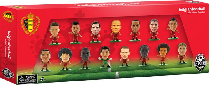 Фигурка SoccerStarz Набор футболистов Сборная Бельгии Belgium 15 Player Team Pack, 400224 цена в Москве и Питере