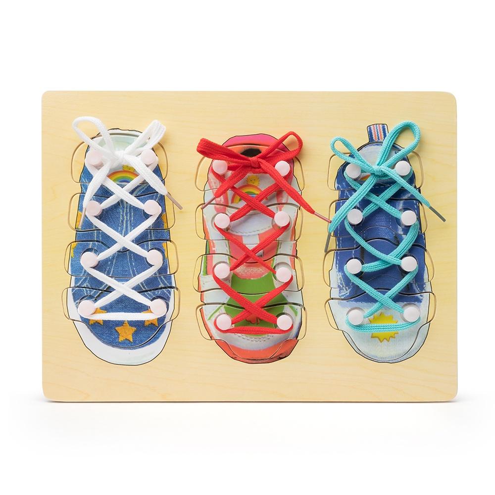 Игра развивающая FindusToys Шнурки, FD-02-006, разноцветный игровой набор с куклой findustoys infant doll fd 35 008 1 фиолетовый