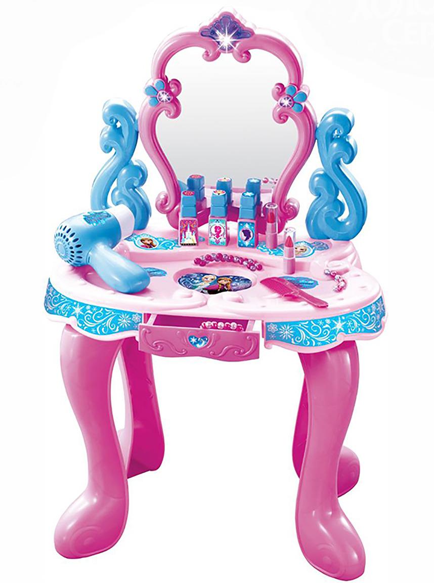 Игровой набор Disney Столик с зеркалом Холодное Сердце, 14 предметов disney набор для создания калейдоскопа холодное сердце