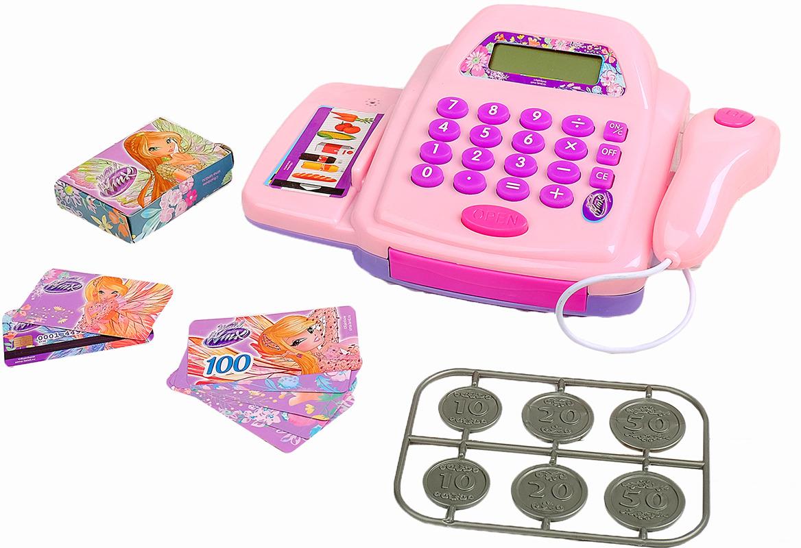 цена на Набор игровой Winx Продуктовая тележка с кассой, 2874583, 30 предметов