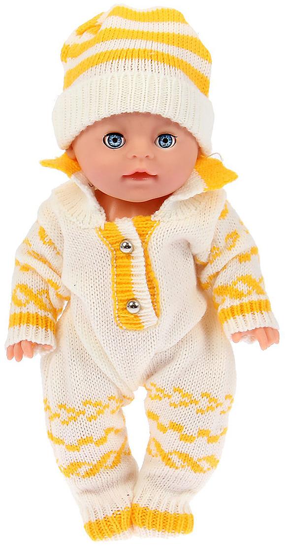 Одежда для пупса Маленькое чудо, 2329808, боди с шапочкой