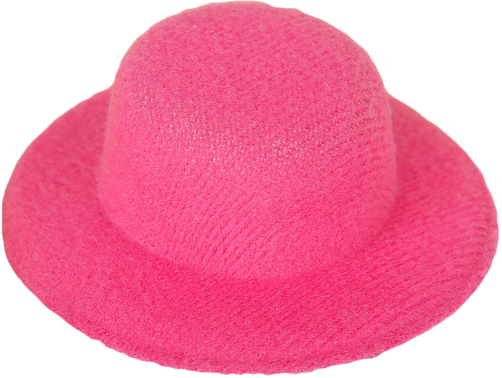 Шляпа для игрушек, 3488138, размер 5 см, розовый шляпа для игрушек 3488159 размер 10 см красный