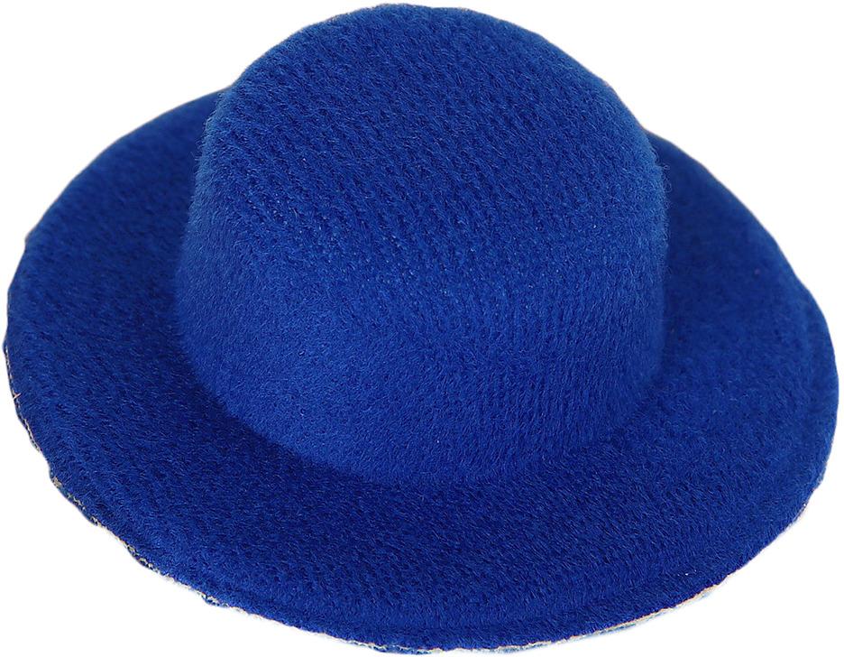 Шляпа для игрушек, 3488141, размер 5 см, синий