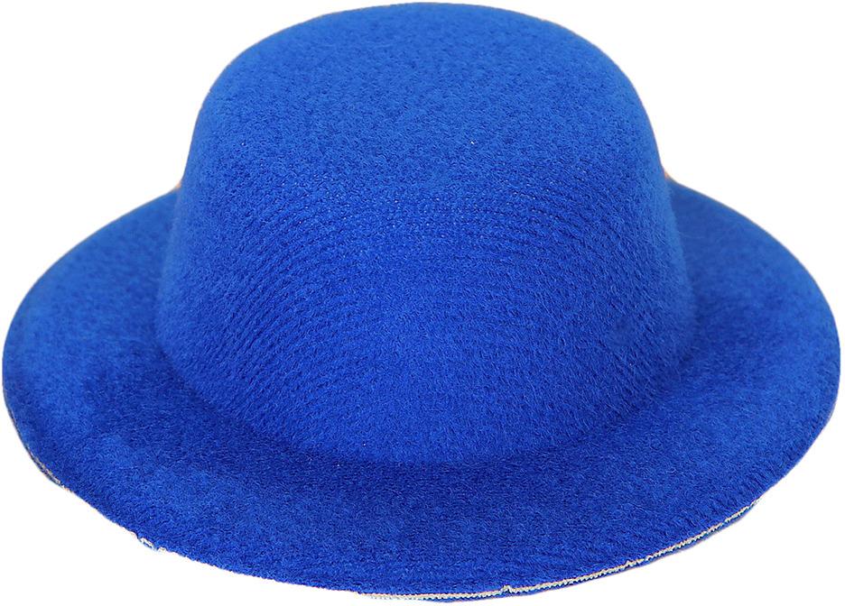 Шляпа для игрушек, 3488156, размер 8 см, синий