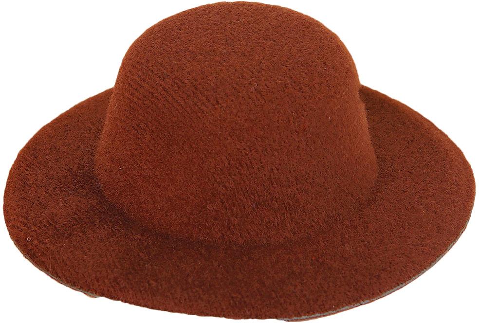 Шляпа для игрушек, 3488157, размер 10 см, коричневый шляпа для игрушек 3488159 размер 10 см красный