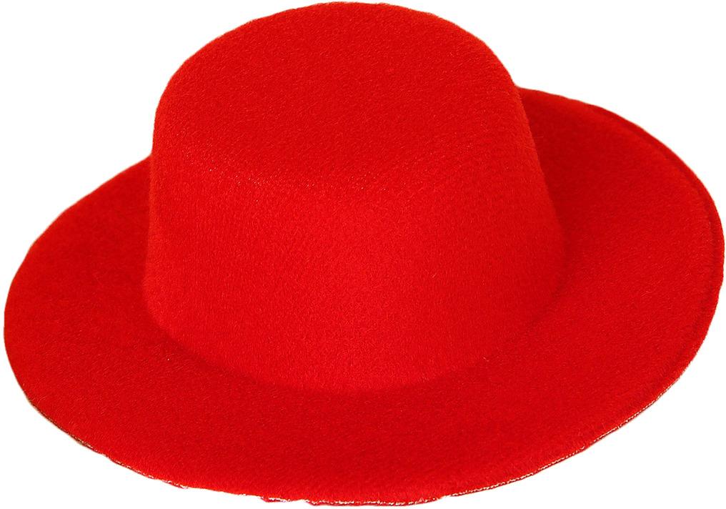 Шляпа для игрушек, 3488159, размер 10 см, красный шляпа для игрушек 3488159 размер 10 см красный