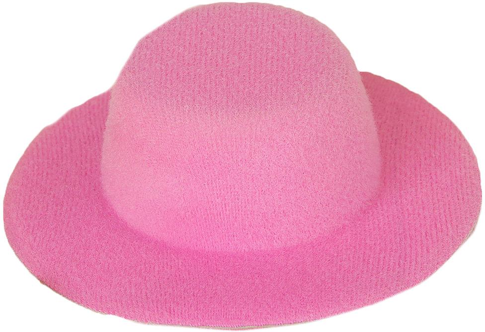 Шляпа для игрушек, 3488160, размер 10 см, розовый шляпа для игрушек 3488159 размер 10 см красный