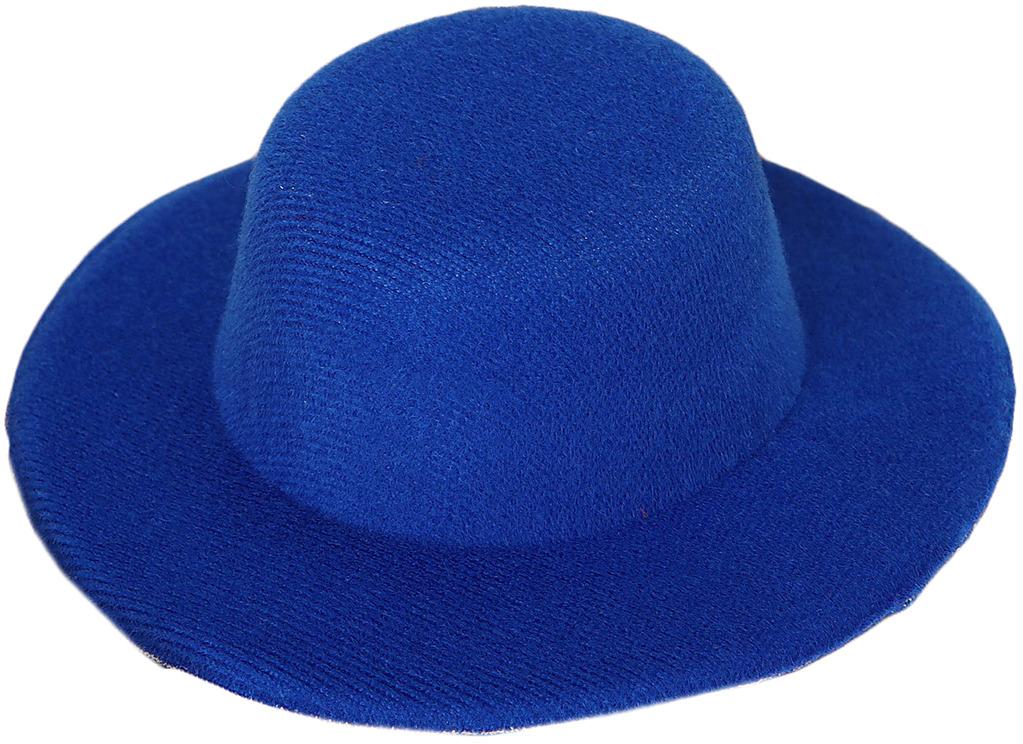 Шляпа для игрушек, 3488161, размер 10 см, синий шляпа для игрушек 3488159 размер 10 см красный