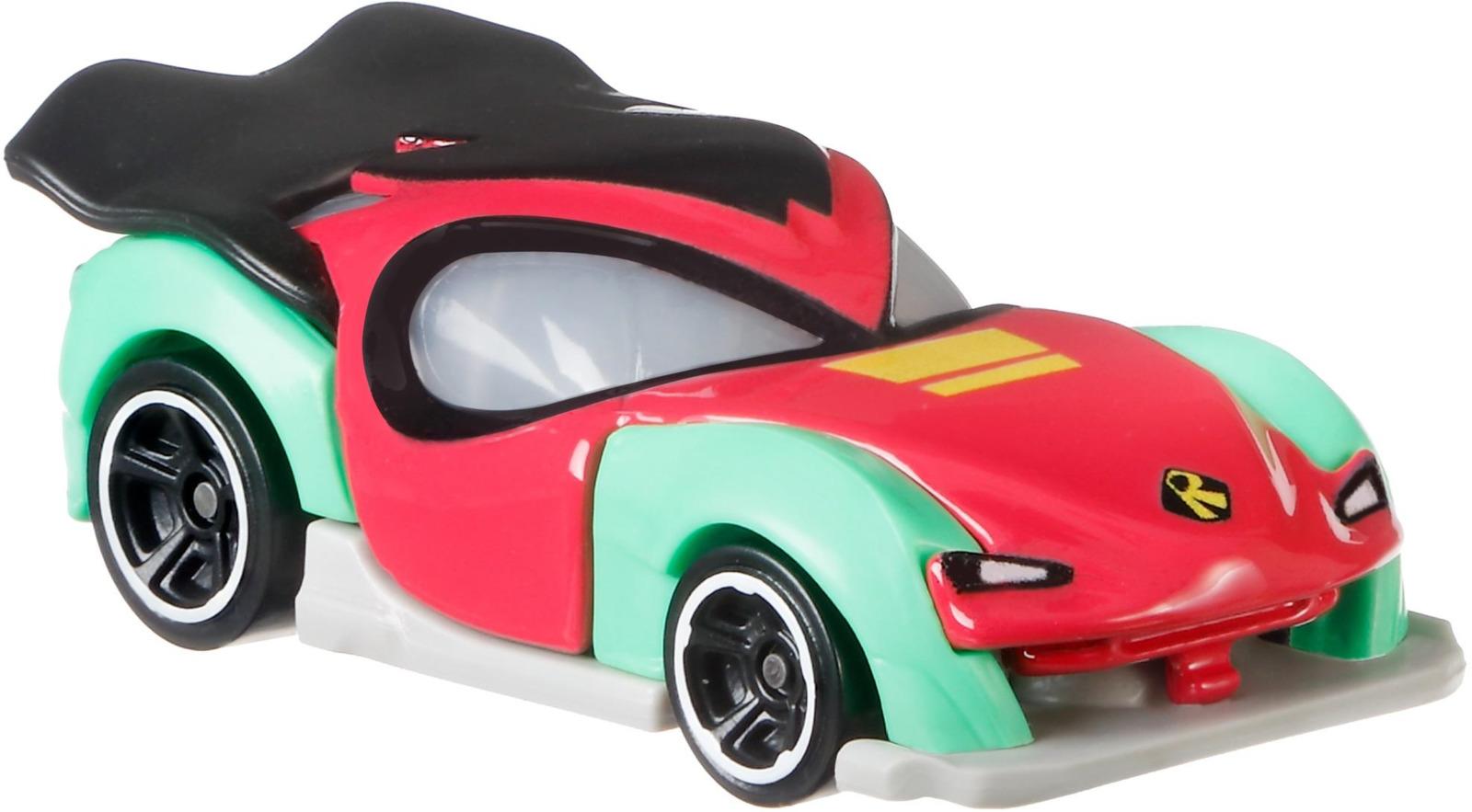 Машинка Hot Wheels DC Teen Titans Go Robin кейс для автомобилей hot wheels