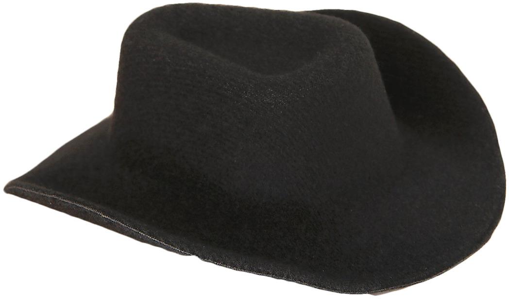 Шляпа для игрушек, 3488165, размер 10 см, черный шляпа для игрушек 3488159 размер 10 см красный