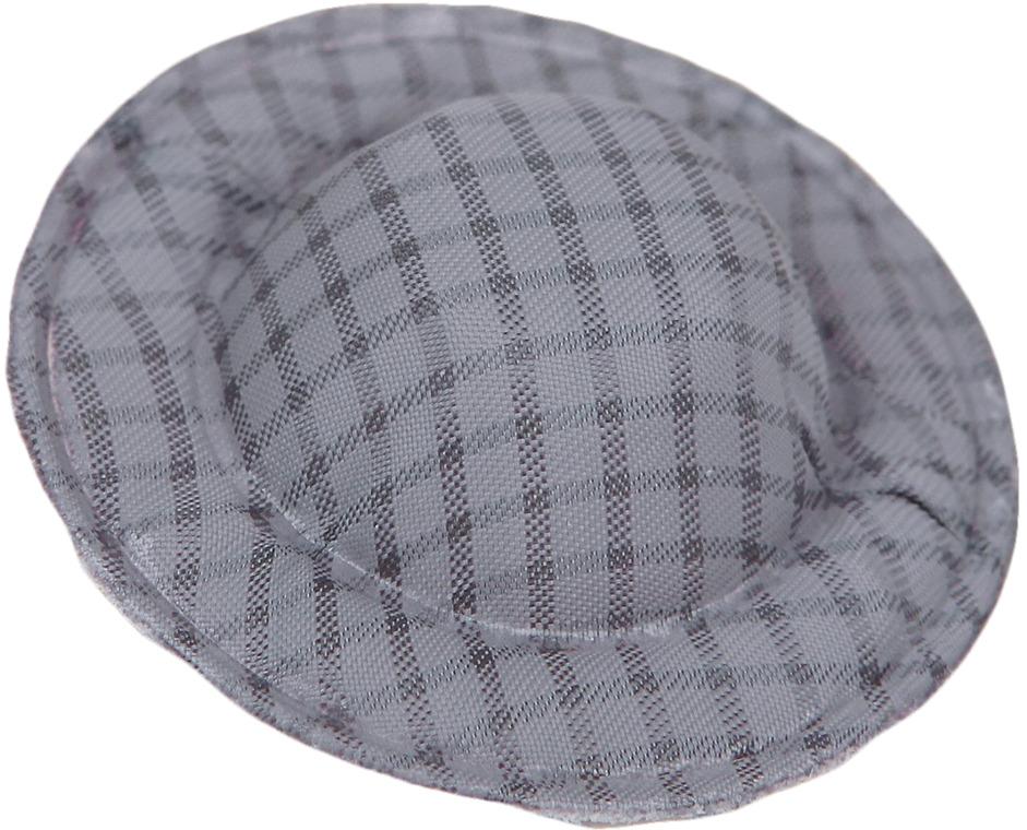 Шляпа для куклы, 3495183, серый, 10 шт