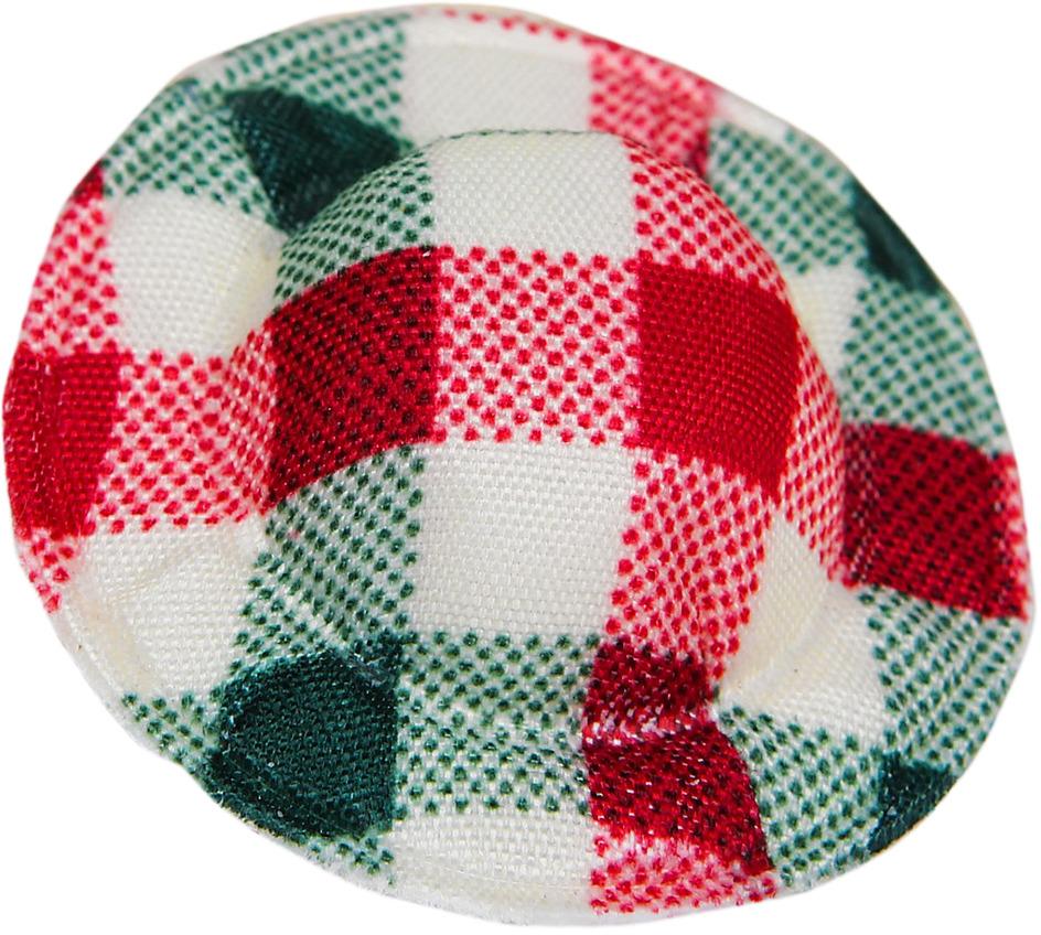 Шляпа для куклы, 3495188, красный, зеленый, 10 шт