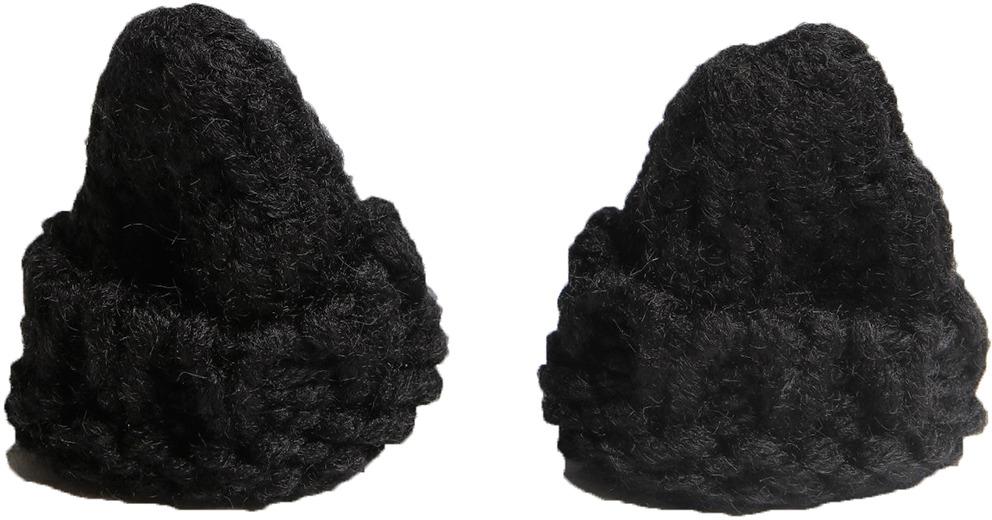 Шапка для игрушек, 3566980, черный, 2 шт
