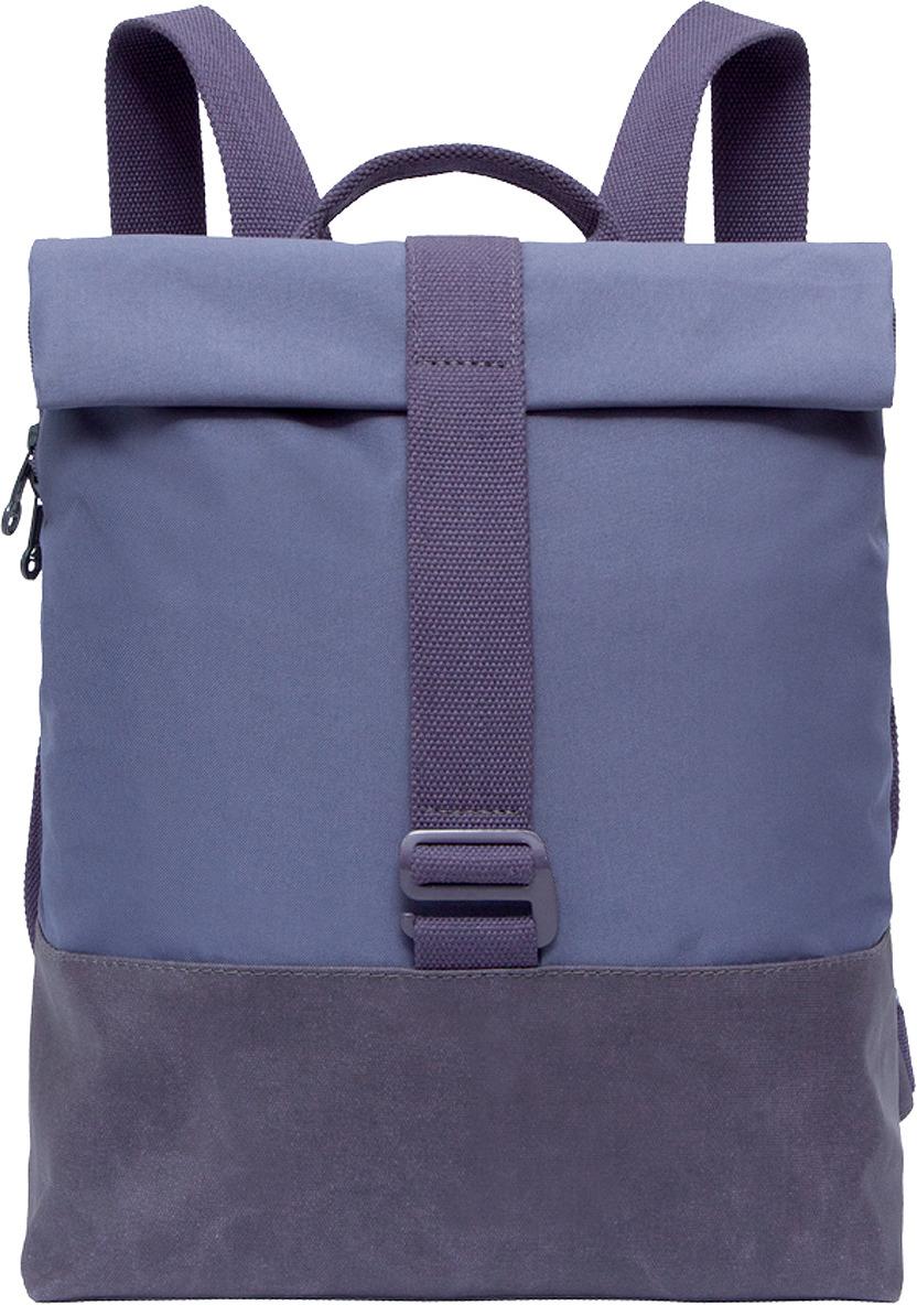 Рюкзак городской Grizzly, RD-747-1/2, фиолетовый, 8.5 л цена