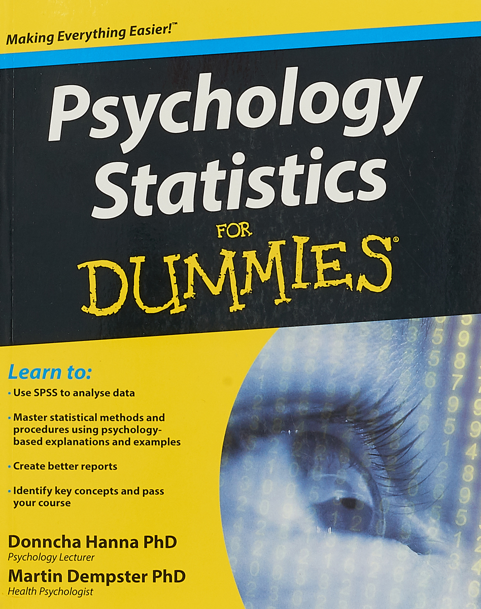 Psychology Statistics For Dummies michael pake cognitive psychology for dummies