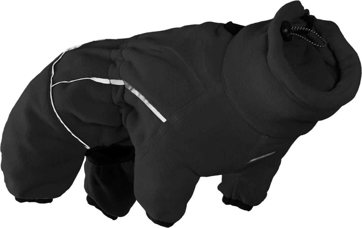 Комбинезон для собак Hurtta Jampsuit, 931081, черный. Размер 20S