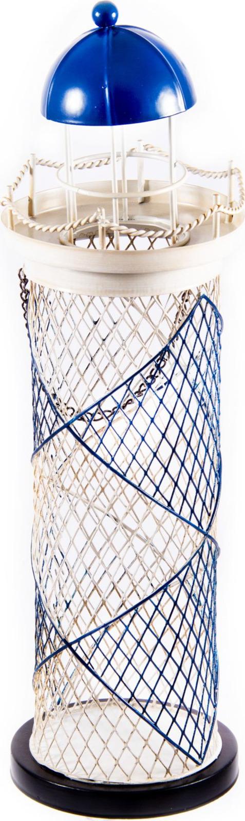 "Подставка под бутылку Русские подарки ""Маяк"", 88032, с накопителем для пробок, 12 х 12 х 37 см"